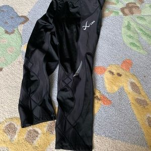 CWX Pants - CWX compression running pants with knee support
